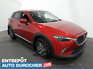 Used 2018 Mazda CX-3 GT - AWD - Navigation - Climatiseur - Cuir for sale in Laval, QC