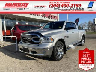 Used 2017 RAM 1500 *Limited*Prem Leather HeatedSeats*Back-Up Cam*GPS* for sale in Brandon, MB