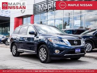 Used 2016 Nissan Pathfinder SL 4x4 Navi Blind Spot Bluetooth Moonroof 360 Cam for sale in Maple, ON