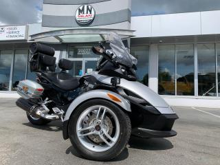 Used 2008 Can-Am Spyder Premiere Special Edition Stereo Saddle Bags EXTRAS for sale in Langley, BC
