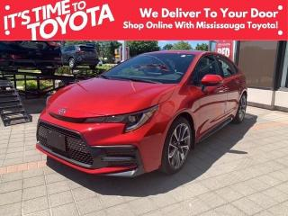 New 2021 Toyota Corolla SE CVT SE Upgrade APX 00 for sale in Mississauga, ON