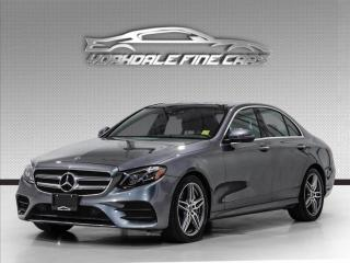 Used 2018 Mercedes-Benz E-Class E 300 4MATIC Navigation, HUD, 360 Cam, Loaded for sale in Concord, ON