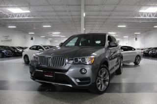 Used 2017 BMW X3 NO ACCIDENTS I XDRIVE28i I NAVIGATION I REAR CAM I PANOROOF for sale in Mississauga, ON