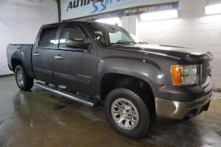 Used 2010 GMC Sierra 1500 SLE SUPER CREW 4x4 CERTIFIED 2YR WARRANTY *FREE ACCIDENT* BED LINER&COVER for sale in Milton, ON
