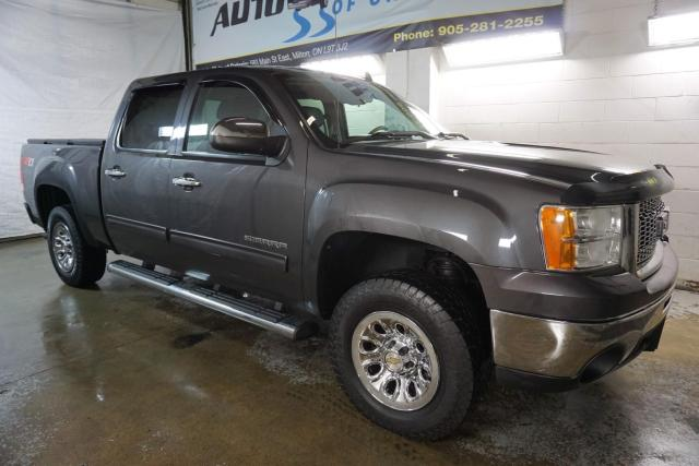 2010 GMC Sierra 1500 SLE SUPER CREW 4x4 CERTIFIED 2YR WARRANTY *FREE ACCIDENT* BED LINER&COVER
