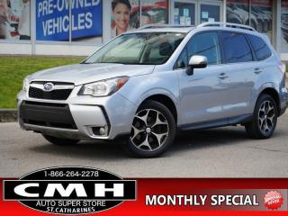 Used 2015 Subaru Forester 2.0XT Touring  NAV CAM ROOF LEATH 18-AL for sale in St. Catharines, ON