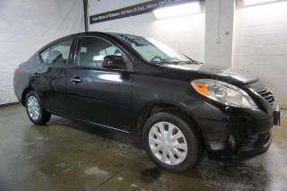 Used 2012 Nissan Versa S 5Spd CERTIFIED 2YR WARRANTY *FREE ACCIDENT*2nd SET WINTER* AUX POWER OPTIONS for sale in Milton, ON