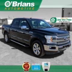 Used 2018 Ford F-150 LARIAT w/Command Start, 4x4, Leather, Nav, Heated Memory Seats for sale in Saskatoon, SK