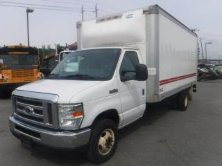Used 2012 Ford Econoline E-450 16 Foot Dually Cube Van With Ramp Carpet Cleaning Extractor for sale in Burnaby, BC
