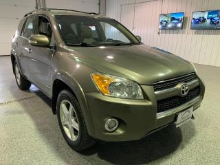 Used 2009 Toyota RAV4 Limited I4 4WD #Leather #Rear View Camera for sale in Brandon, MB