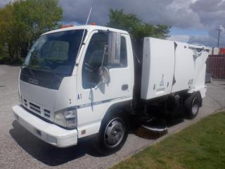 Used 2007 Isuzu NQR Street Sweeper Diesel for sale in Burnaby, BC