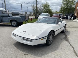 Used 1988 Chevrolet Corvette Coupe for sale in Oakville, ON