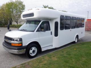 Used 2014 Chevrolet Express G4500 22 passenger Bus Diesel With Wheelchair Accessibility for sale in Burnaby, BC