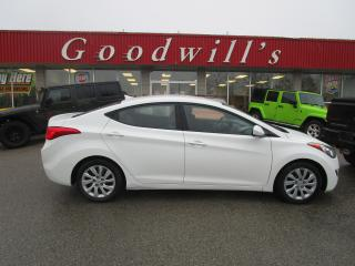 Used 2013 Hyundai Elantra GLS! ECONOMICAL! LOW KM! WELL OILED! for sale in Aylmer, ON