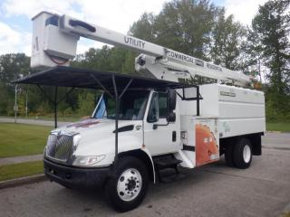 Used 2005 International 4300 Bucket Dump Box 3 Seater Diesel With Hydraulic Brakes for sale in Burnaby, BC