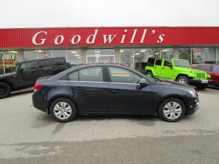 Used 2015 Chevrolet Cruze LT! 6 SPEED MANUAL! SPORTY! SUPER LOW KM! for sale in Aylmer, ON