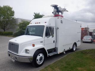 Used 2002 Freightliner FL60 Cube Van Broadcasting Van Diesel for sale in Burnaby, BC