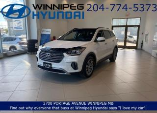 Used 2017 Hyundai Santa Fe LUXURY - AWD, Leather seating, Heated front and rear seats for sale in Winnipeg, MB