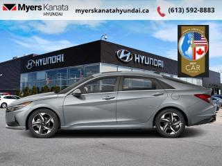 New 2021 Hyundai Elantra Ultimate  Tech IVT  - $202 B/W for sale in Kanata, ON