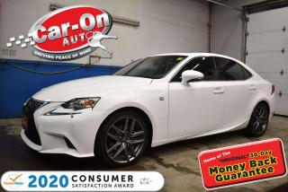 Used 2015 Lexus IS 250 F SPORT AWD F-SPORT 2 | BLIND SPOT | NAV | HEATED/COOLED L for sale in Ottawa, ON