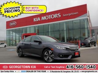 Used 2017 Honda Civic Sedan EX-T | 1 OWNR | CLN CRFX | SUNROOF | BU CAM | 43K for sale in Georgetown, ON