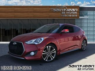 Used 2016 Hyundai Veloster Turbo // A/C + BLUETOOTH + CAM DE RECUL for sale in Saint-Jean-sur-Richelieu, QC