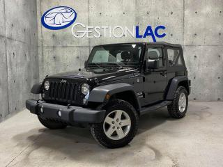 Used 2016 Jeep Wrangler 4 RM 2 portes Sport 285HP for sale in St-Nicolas, QC