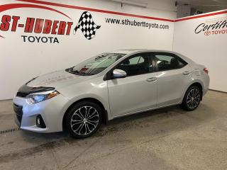 Used 2016 Toyota Corolla CVT S, TOIT OUVRANT for sale in St-Hubert, QC