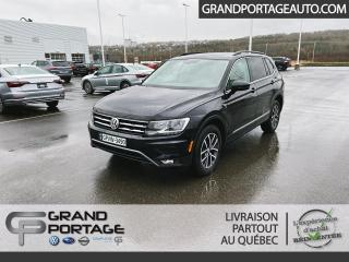 Used 2018 Volkswagen Tiguan COMFORTLINE 4Motion for sale in Rivière-Du-Loup, QC