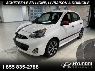 Used 2015 Nissan Micra SR + GARANTIE + CAMERA + A/C + MAGS + WO for sale in Drummondville, QC