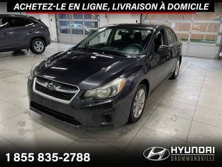 Used 2013 Subaru Impreza 2.0I PREMIUM AWD + GARANTIE + A/C + MAGS for sale in Drummondville, QC