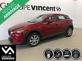 Used 2019 Mazda CX-3 GX AWD / GPS ** GARANTIE 10 ANS ** VUS agile en ville, à bas kilométrage! for sale in Shawinigan, QC