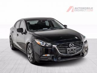 Used 2018 Mazda MAZDA3 SE A/C Mags Cuir Sièges Chauffants Caméra for sale in St-Hubert, QC