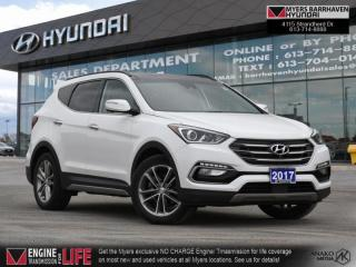 Used 2017 Hyundai Santa Fe Sport 2.0T Ultimate  - Navigation - $201 B/W for sale in Nepean, ON