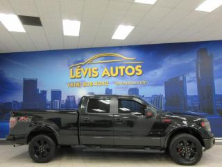 Used 2014 Ford F-150 FX4 SUPERCREW BOITE 6½ 108200KM V8 5.0L for sale in Lévis, QC