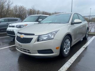 Used 2013 Chevrolet Cruze *LT * AC * 41525 KM* CRUISE *BLUETOOTH* for sale in Québec, QC
