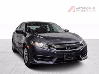 Used 2016 Honda Civic LX A/C CAMERA DE RECUL for sale in St-Hubert, QC