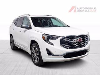 Used 2019 GMC Terrain Denali AWD A/C Mags Cuir Toit Pano GPS Caméra for sale in St-Hubert, QC
