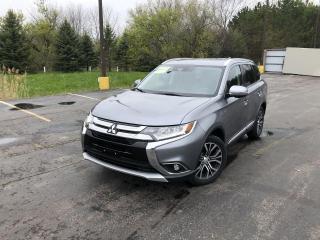 Used 2017 Mitsubishi Outlander GT S-AWC for sale in Cayuga, ON