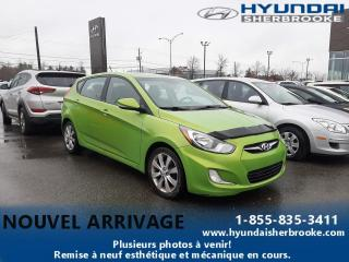 Used 2013 Hyundai Accent GLS TOIT AIR CRUISE BANCS CHAUF BLUETOOT for sale in Sherbrooke, QC