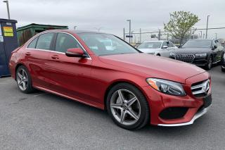 Used 2017 Mercedes-Benz C-Class C300 4 MATIC CUIR TOIT MAGS for sale in St-Hubert, QC