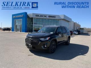 New 2021 Chevrolet Traverse RS  - Sunroof - Navigation for sale in Selkirk, MB