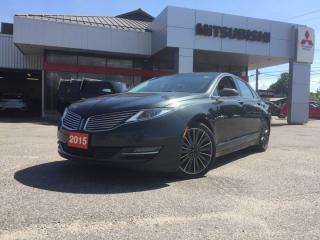 Used 2015 Lincoln MKZ 4DR SDN AWD for sale in North Bay, ON