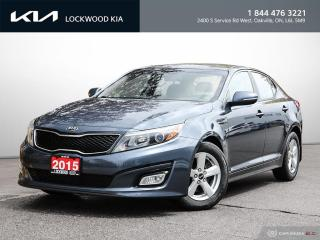 Used 2015 Kia Optima 4dr Sdn Auto LX - REMOTE START | HEATED SEATS for sale in Oakville, ON