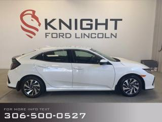 Used 2018 Honda Civic Hatchback LX for sale in Moose Jaw, SK