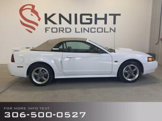 Used 2001 Ford Mustang GT, Convertible!!! Low km's and Accident Free! for sale in Moose Jaw, SK