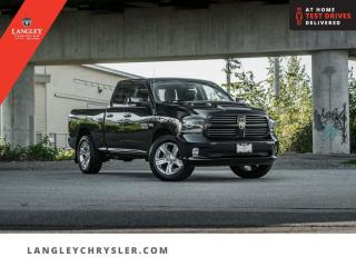 Used 2017 RAM 1500 Sport  Backup/ Bluetooth/ Lined Box/ Accident Free for sale in Surrey, BC