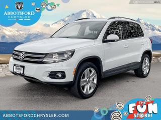 Used 2016 Volkswagen Tiguan COMF/HI/R-LN/SPCED  - $172 B/W for sale in Abbotsford, BC