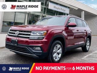 Used 2018 Volkswagen Atlas Comfortline for sale in Maple Ridge, BC