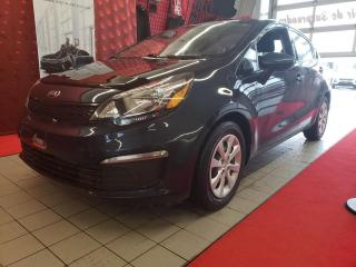 Used 2016 Kia Rio *LX+*CRUISE*A/C*BLUETOOTH* for sale in Québec, QC